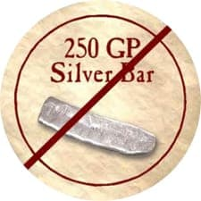 250 GP Silver Bar (Gold)