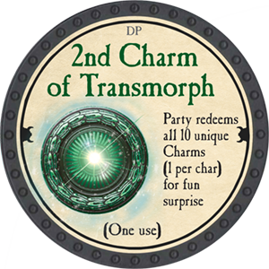 2nd Charm of Transmorph - 2018 (Onyx) - C3