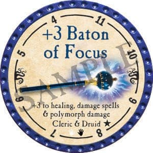 +3 Baton of Focus - 2016 (Blue) - C12