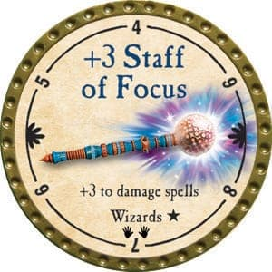 +3 Staff of Focus - 2015 (Gold) - C1