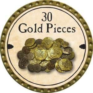 30 Gold Pieces - 2014 (Gold)