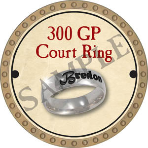 300 GP Court Ring - 2017 (Gold)