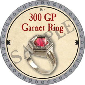 300 GP Garnet Ring - 2018 (Platinum)