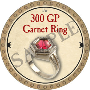 300 GP Garnet Ring - 2018 (Gold)