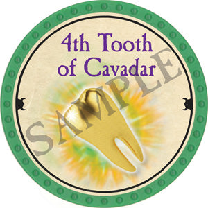 4th Tooth of Cavadar - 2018 (Light Green) - C12