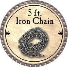 5 ft. Iron Chain - 2009 (Platinum)