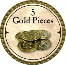 5 Gold Pieces - 2007 (Gold)