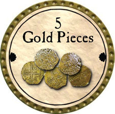 5 Gold Pieces - 2011 (Gold)