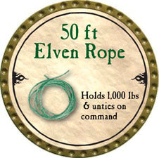 50 ft Elven Rope - 2010 (Gold)