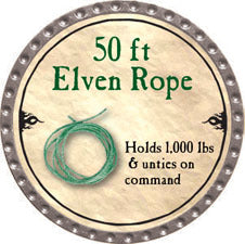50 ft Elven Rope - 2010 (Platinum) - C37