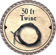 50 ft Twine - 2008 (Platinum) - C37
