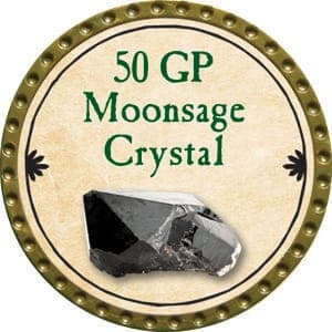 50 GP Moonsage Crystal - 2015 (Gold)