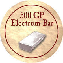 500 GP Electrum Bar (Gold)