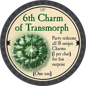6th Charm of Transmorph - 2018 (Onyx) - C37