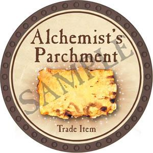Alchemist's Parchment - Yearless (Brown)