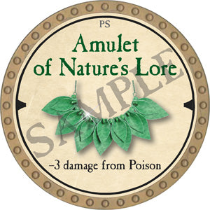 Amulet of Nature's Lore - 2019 (Gold)