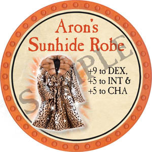 Aron's Sunhide Robe - 2017 (Orange) - C12