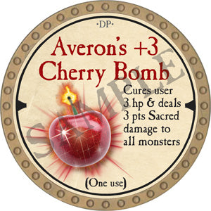 Averon's +3 Cherry Bomb - 2019 (Gold) - C12