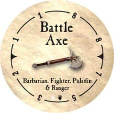 Battle Axe - 2005b (Wooden) - C26