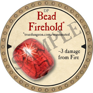 Bead Firehold - 2019 (Gold) - C44