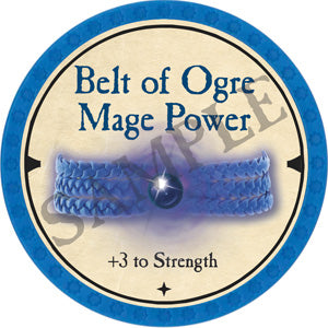 Belt of Ogre Mage Power - 2019 (Light Blue) - C54