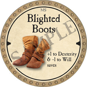 Blighted Boots - 2019 (Gold)