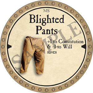 Blighted Pants - 2019 (Gold)