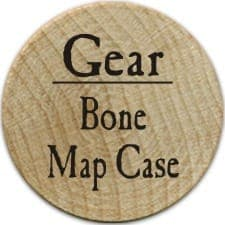 Bone Map Case - 2004 (Wooden)