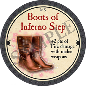 Boots of Inferno Step - 2018 (Onyx) - C77