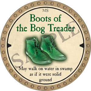 Boots of the Bog Treader - 2019 (Gold)