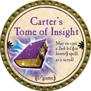 Carter's Tome of Insight - 2015 (Gold) - C1
