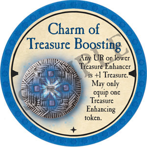 Charm of Treasure Boosting - 2019 (Light Blue) - C007