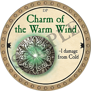 Charm of the Warm Wind - 2018 (Gold) - C3