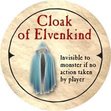 Cloak of Elvenkind - 2006 (Wooden)