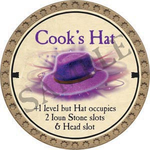 Cook's Hat - 2020 (Gold)