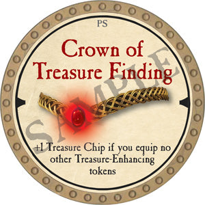 Crown of Treasure Finding - 2019 (Gold) - C10