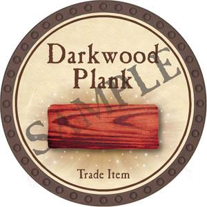 Darkwood Plank - Yearless (Brown)