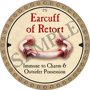 Earcuff of Retort - 2019 (Gold)