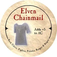 Elven Chainmail - 2006 (Wooden)