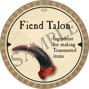 Fiend Talon - 2019 (Gold) - C51
