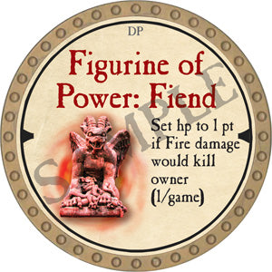 Figurine of Power: Fiend - 2019 (Gold) - C10