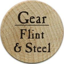 Flint & Steel - 2005b (Wooden) - C26
