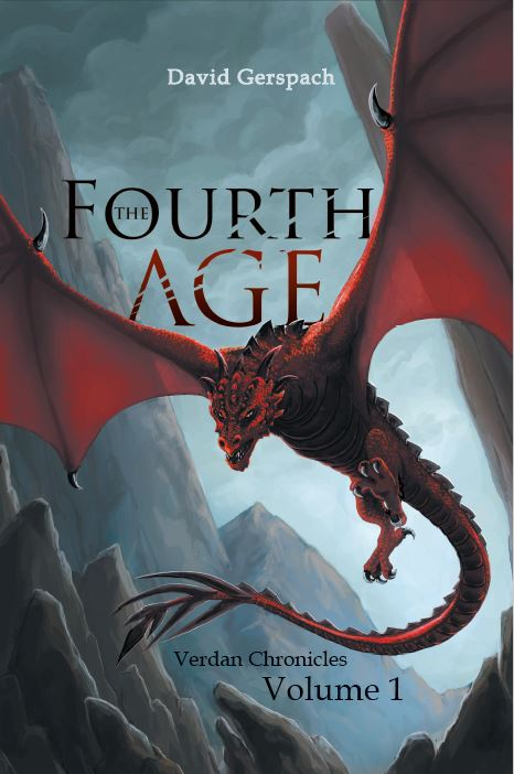 The Fourth Age: Verdan Chronicles Volume 1 - signed by David Gerspach