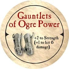Gauntlets of Ogre Power - 2006 (Woodie) - C12