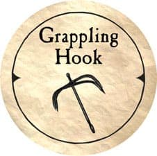 Grappling Hook - 2005b (Wooden) - C26
