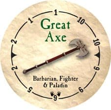 Great Axe - 2005b (Wooden)