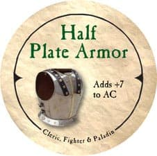 Half Plate Armor - 2006 (Wooden)