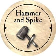 Hammer and Spike - 2006 (Wooden)