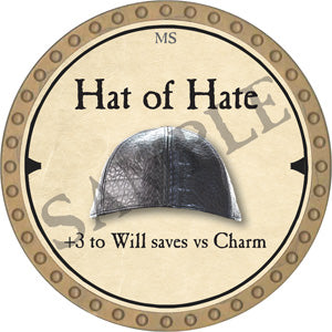 Hat of Hate - 2019 (Gold)