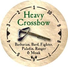 Heavy Crossbow - 2005a (Woodie)